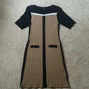 Tahari sweater dress